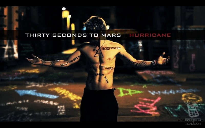 30 Seconds To Mars - Hurricane
