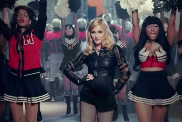 Madonna ft. MIA and Nicki Minaj - Give Me All Your Luvin'