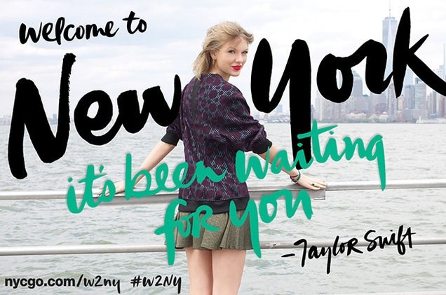 Taylor Swift - Welcome To New York