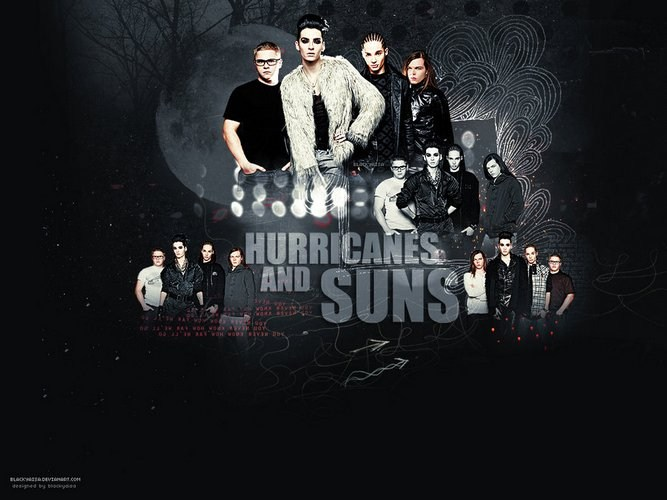 Tokio Hotel - Hurricanes And Suns