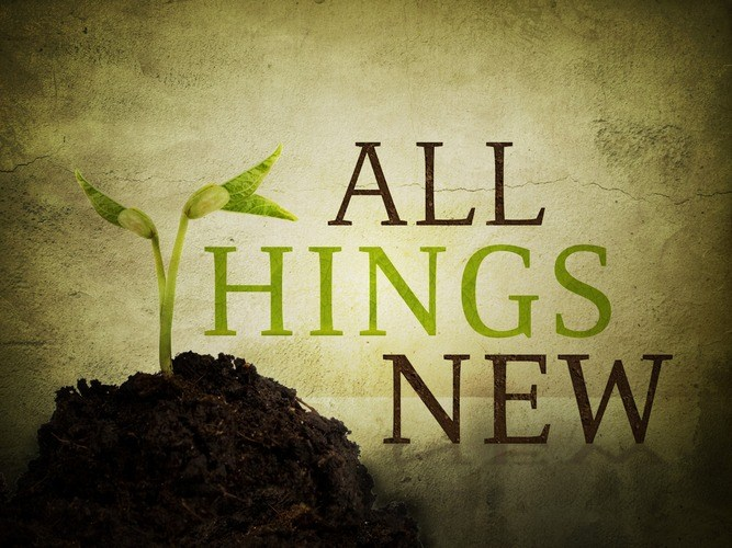 All Things New - Washed over Me