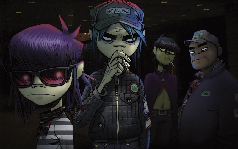 Gorillaz - Busted And Blue